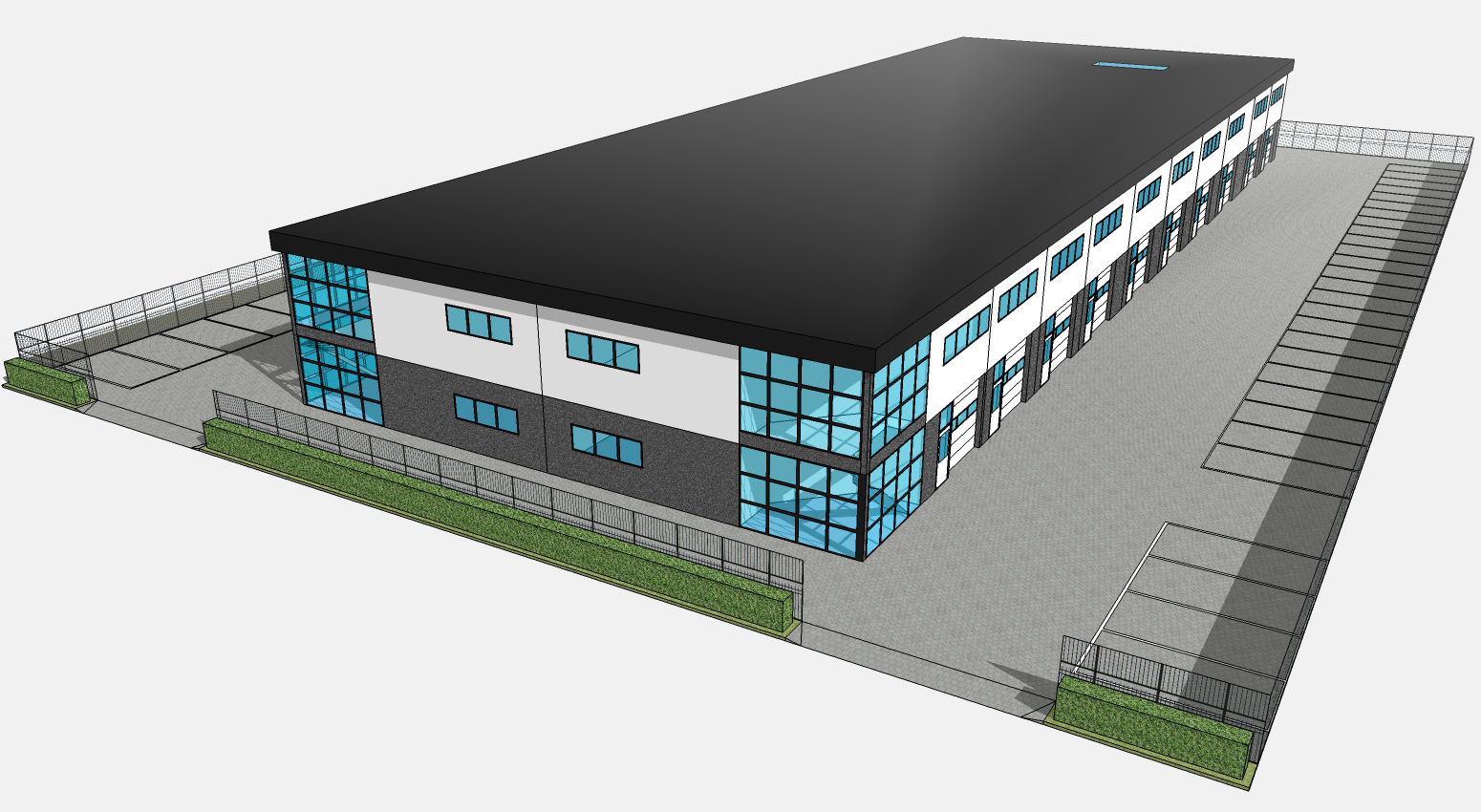 Image gallery sketchup warehouse for Sketchup building